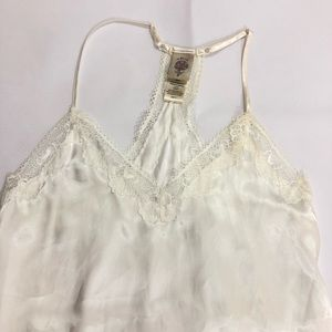 In bloom ivory lace chemise babydoll XXS